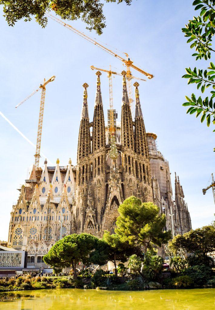 Sagrada Família. Tháng 1/2017